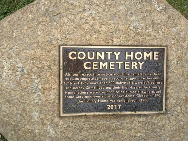 County Home Cemetary 8.1.2018